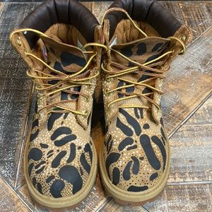 Timberland boots| custom painted by Indibeast